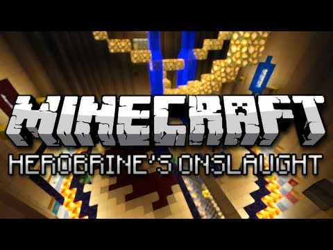 Minecraft: Herobrine's Onslaught w/ Friends (Mini-Game)