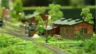 Miniatur Modellbahn Leipzig FullHD 1080p