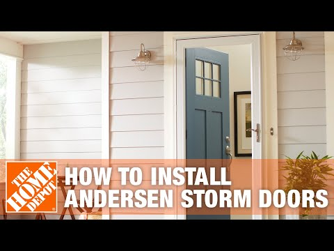 Andersen Storm Doors - YouTube