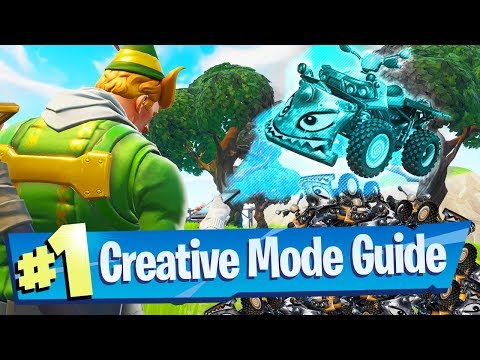 NEW Fortnite Creative Mode Gameplay + Guide (Recorded At Epic HQ!)
