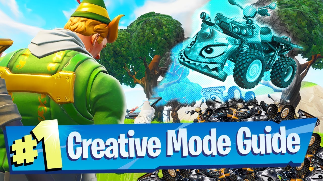 New Fortnite Creative Mode Gameplay Guide Recorded At Epic Hq