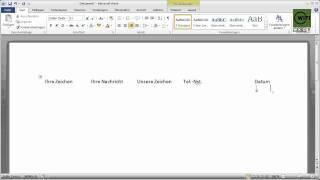 WIFI Vorarlberg EDV Tipps & Tricks: Microsoft Word 2010 Schnellbausteine