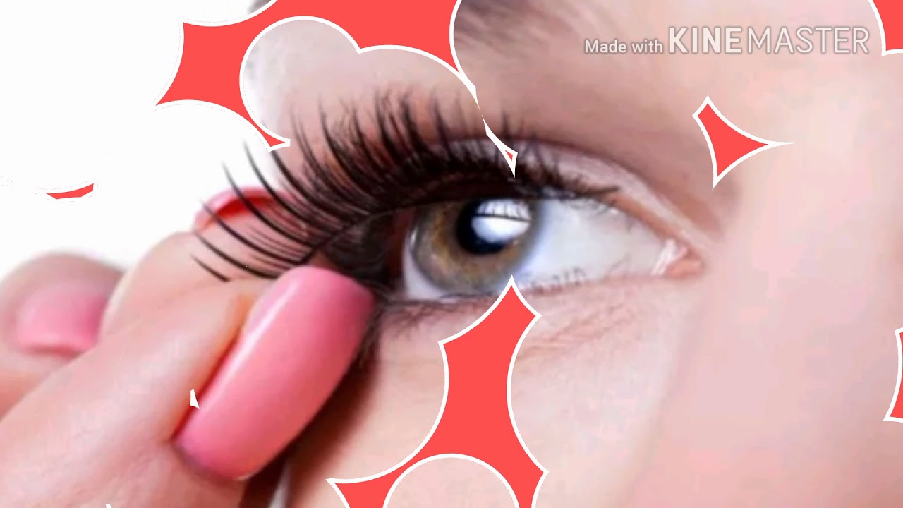 9a78be5a77f 3D Magnetic False Eyelashes - YouTube