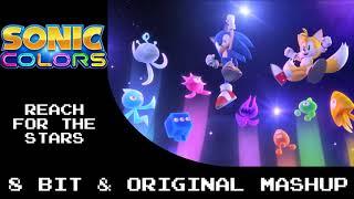Sonic Colors Reach for the Stars 8 Bit & Original Mashup
