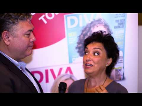 DIVA magazine Relaunch  - Ria Jones Interview