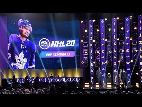 Auston Matthews named cover athlete for EA SPORTS NHL 20