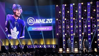 Auston Matthews named cover athlete for EA SPORTS NHL 20