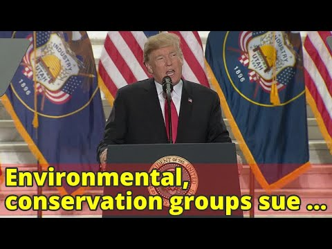 Environmental, conservation groups sue Trump: A.M. News Links