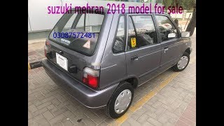 suzuki mehran 2018 for sale  use car