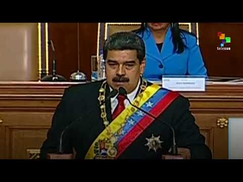 Maduro Pledges Before NCA To Fulfill Presidential Duties
