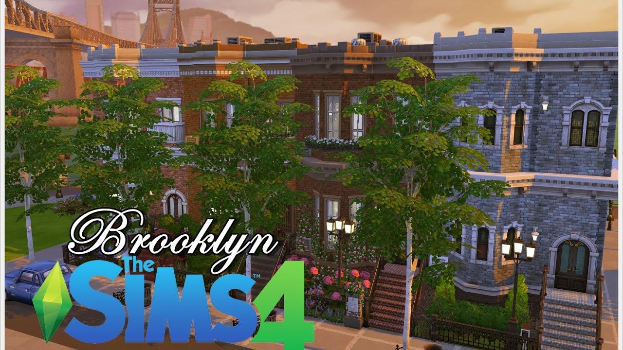 Construindo os pr dios do brooklyn nova york the sims for Veltroni casa new york