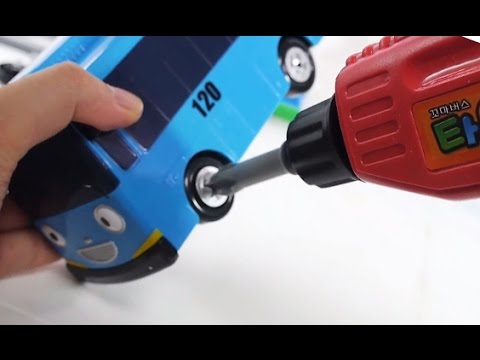 Thumbnail: Tayo the Little Bus Tools toy with Learn Color & How to Make Bus