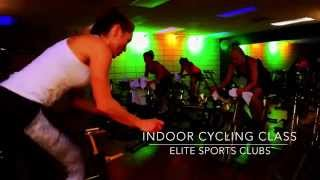 Indoor Cycling Class at Elite Sports Clubs