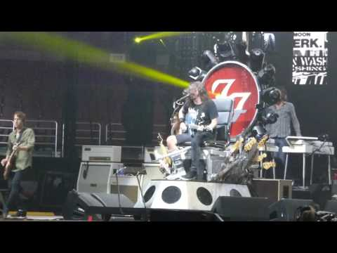 Foo Fighters play Rush's Tom Sawyer with Yes singer Jon Davison~This is a Call~ Honda Center