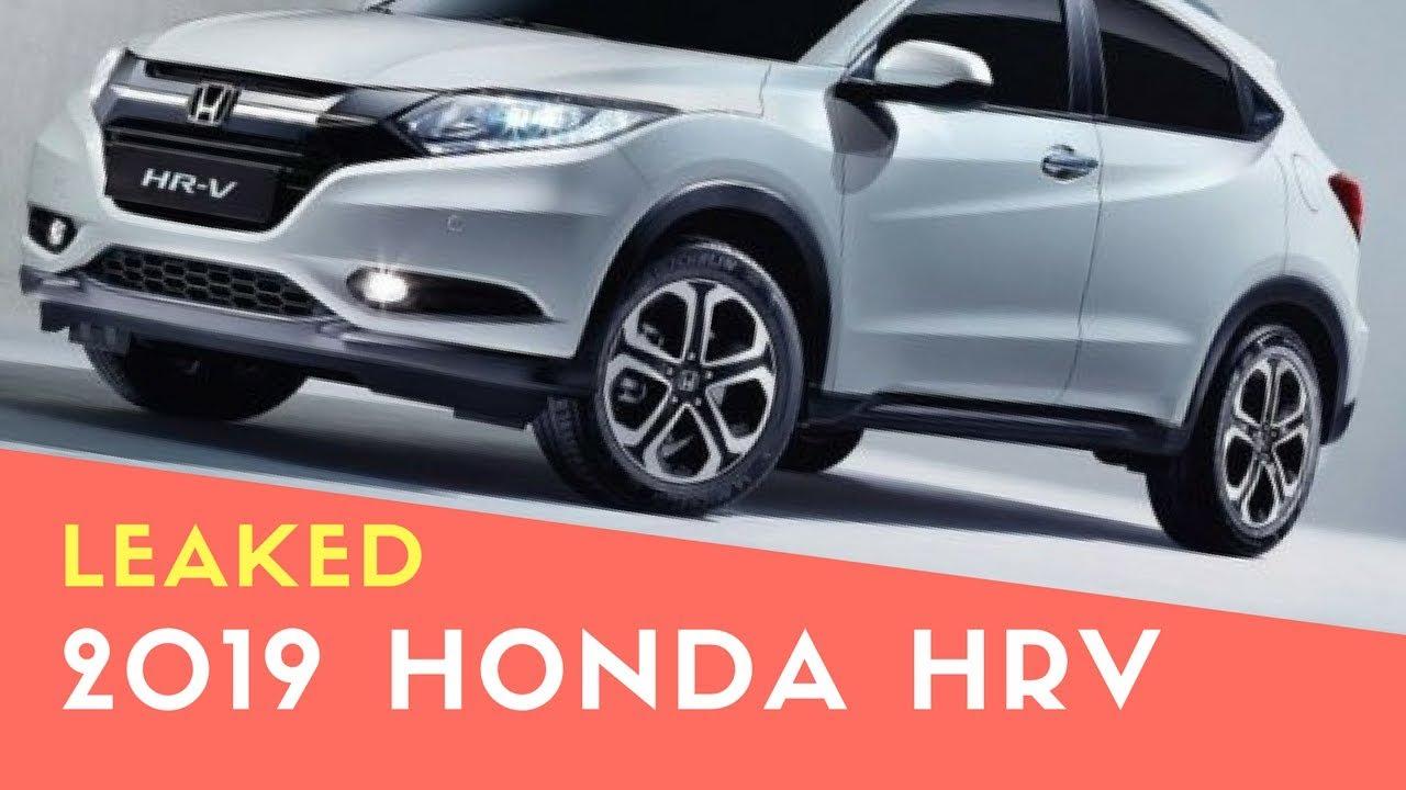 2019 HONDA HRV FACELIFT LEAKED - YouTube