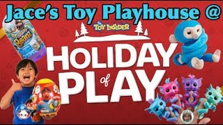 Baixar Jace's Toy Playhouse at The Toy Insider's Holiday of Play 2018 in New York Hot Toys Top 20 Christmas