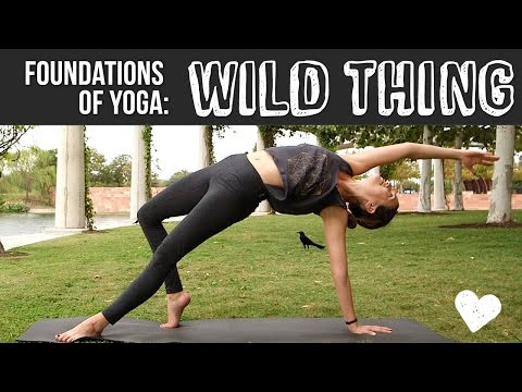 Wild Thing Foundations of Yoga