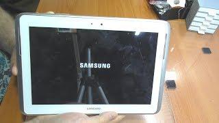 Не загружается планшет Samsung Galaxy Note 10.1 N8000 / Замена NAND памяти