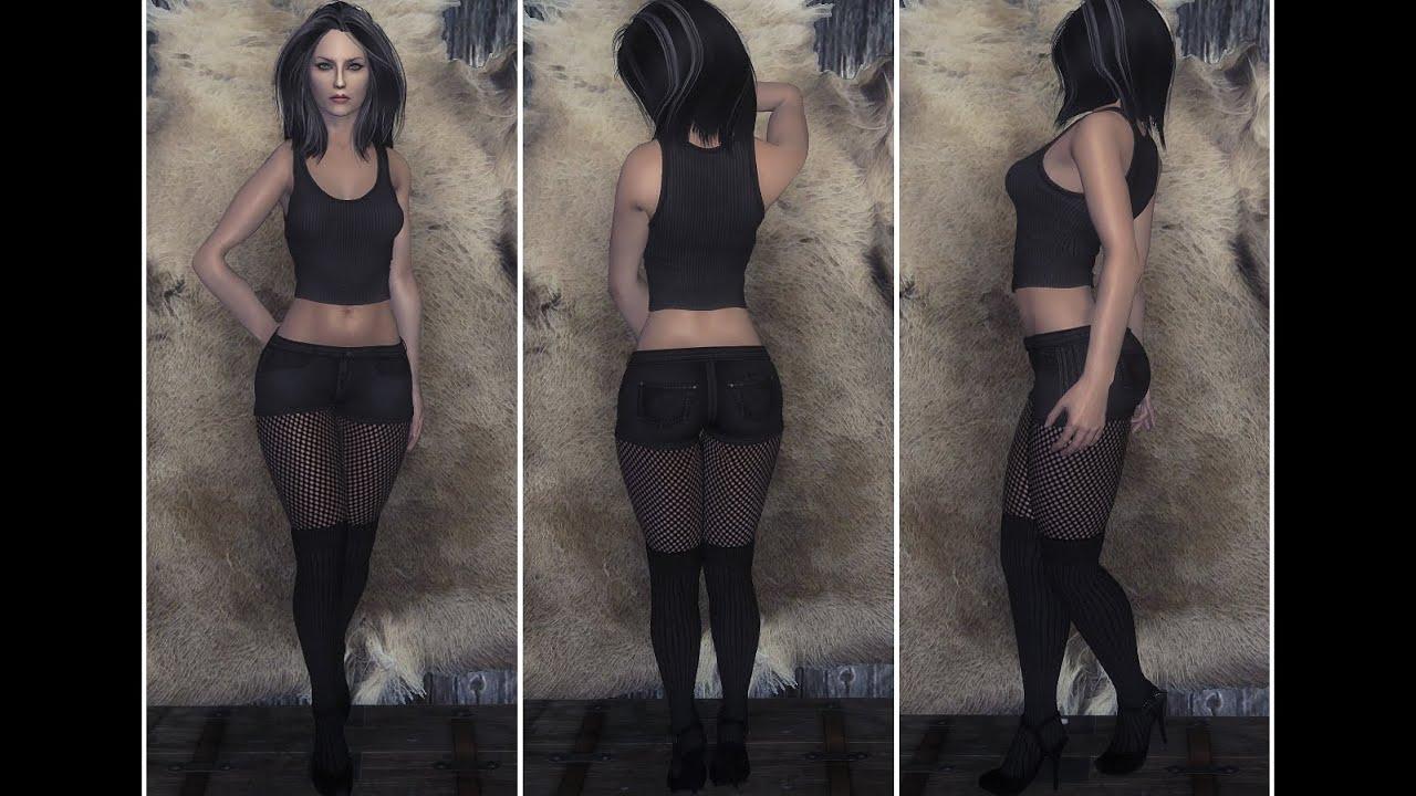 Skyrim: S&D black temptation UNP (Clothing) by SandDpage