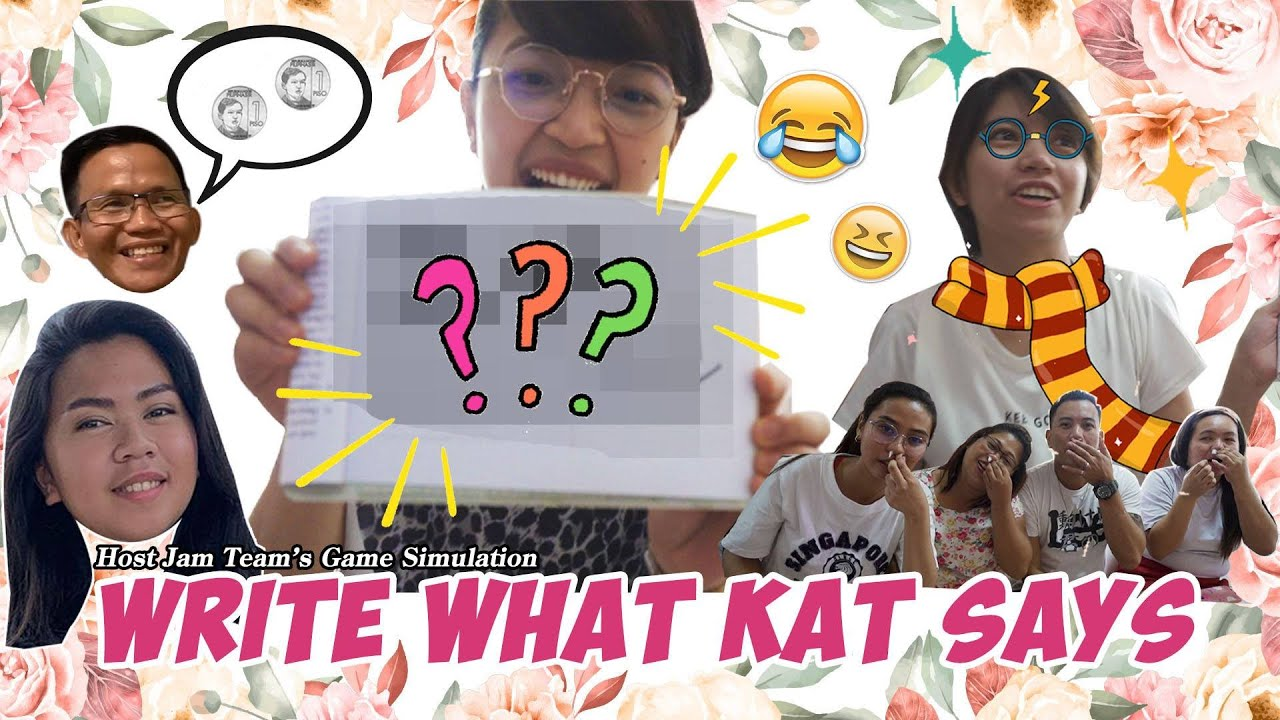 Write What Kat Says | Group Games 149