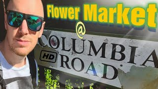 Columbia Road Flower Market - Walking Tour with a local Englishman - City Guide - East London