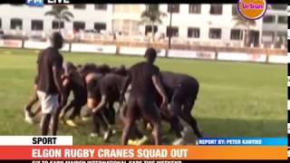 #PMLive: Elgon Rugby Cranes squad out