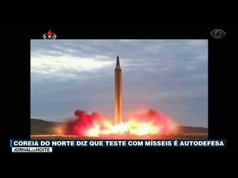 Coreia Do Norte Diz Que Teste Com Mísseis é Autodefesa