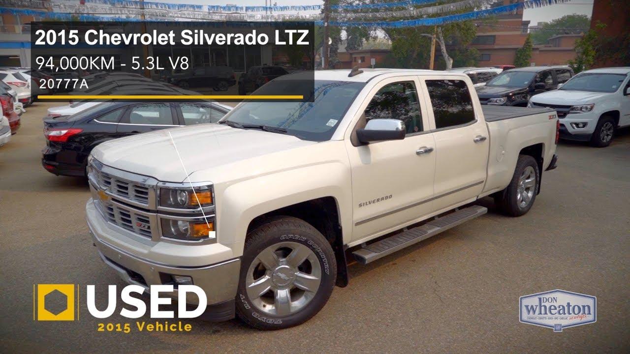 2015 Chevrolet Silverado 1500 Ltz Z71 Walkaround Youtube