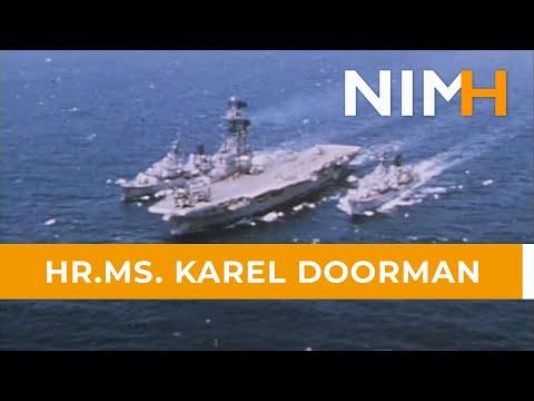This is HMS Karel Doorman