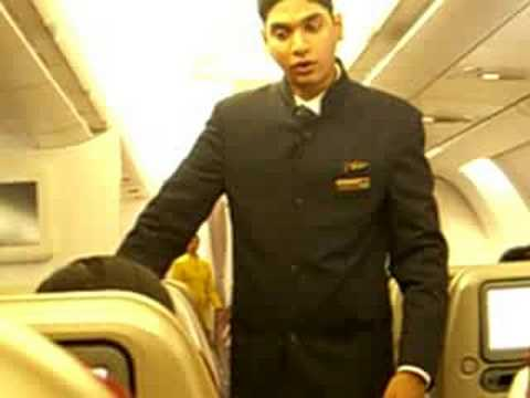 Jet Airways Economy  Class Demonstration 3