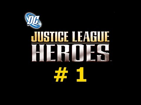 Justice League Heroes (PS2 / Rus / Part 1)