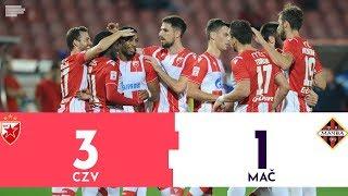 Superliga Srbije | CRVENA ZVEZDA - MAČVA 3:1 | Highlights