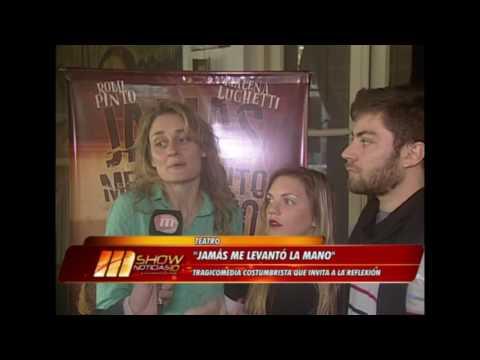 ENTREVISTA DE MAGAZINE SHOW NOTICIAS- JAMAS ME LEVANTO LA MANO