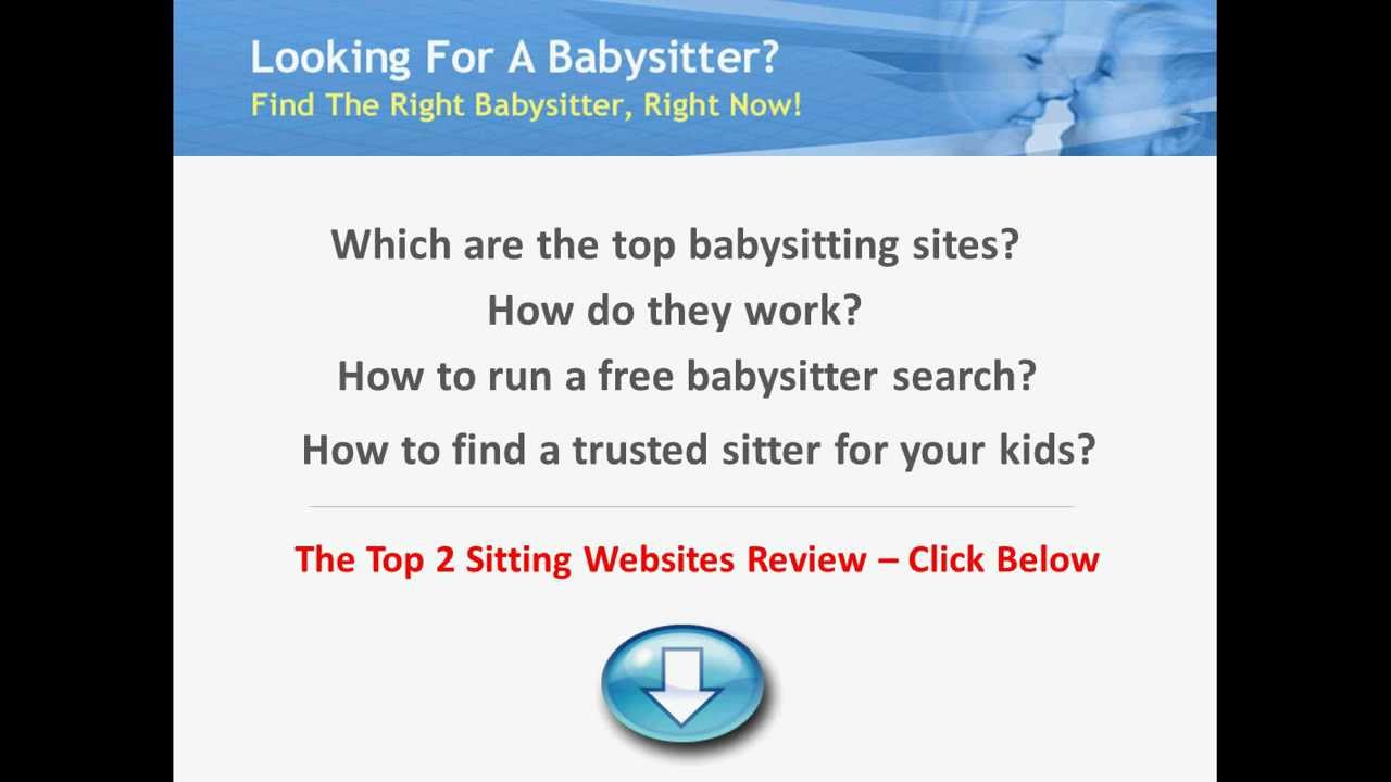 Free Babysitting Websites The Top Two Sitting Sites