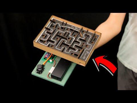 WOW! Amazing DIY Maze Game from Arduino