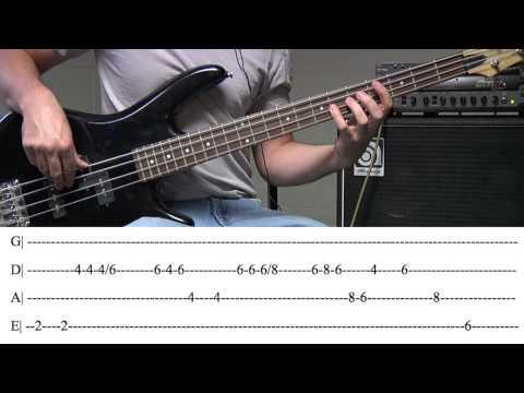 Rude Bass Tab (By Magic)