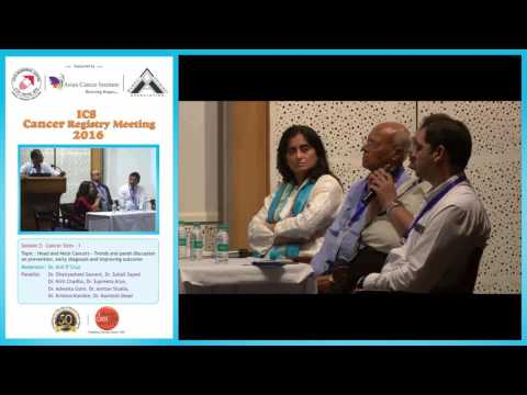Head and Neck Cancers :Panel discussion, Dr  Anil D'Cruz