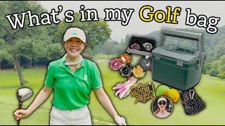 왓츠 인 마이 골프백👜 | What's in my GOLF BAG? 👀
