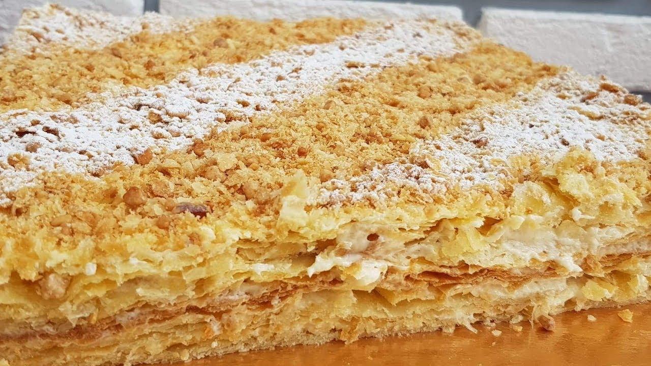 НАПОЛЕОН ☆ Самый лучший рецепт/ Наполеон торт пиширилиши ...