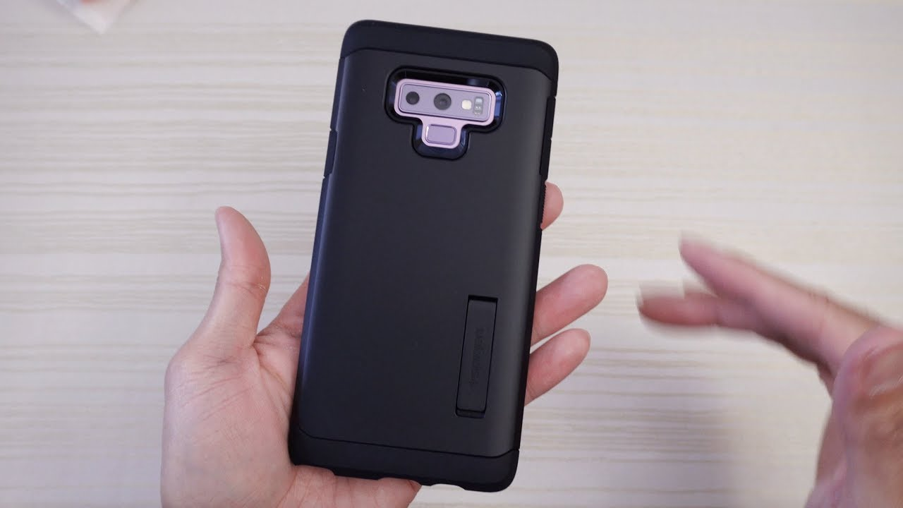 finest selection c4cc1 b784c Spigen Tough Armor Case for the Samsung Galaxy Note 9!