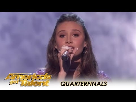 Makayla Phillips: 15-Year-Old Golden Buzzer SLAYS 'Issues'! | America's Got Talent 2018