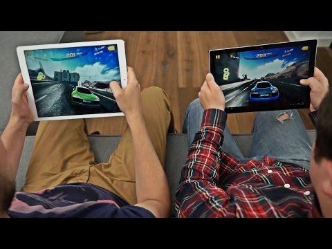 iPad Pro vs Surface Pro 4 #colepsze #5