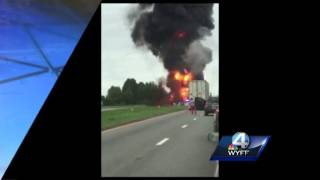 3 people killed in fiery crash on Upstate interstate