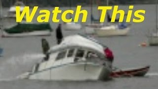 Time Lapse Boat Sinking