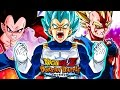 the prince of all saiyans full vegeta team merged zamasu boss stage dbz dokkan battle