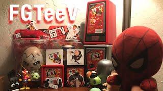 Spider-Man Unboxes FGTeeV Season 2 mini teev and 2 big figs!!