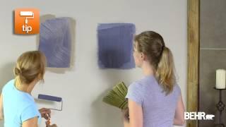 Pintura BEHR: Como Hacer Acabados Decorativos Faux