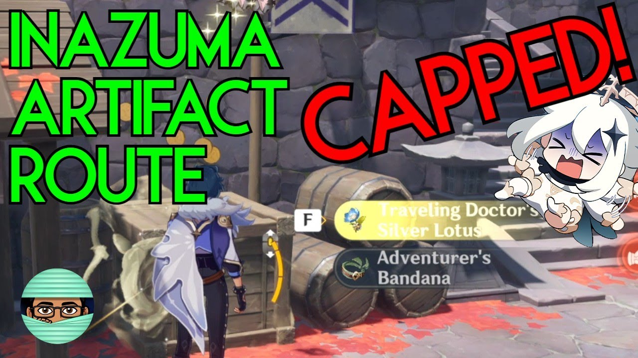 There's a cap on artifact exp? Inazuma Artifact Route & All Locations (Hopefully) | Genshin