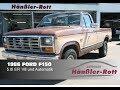 ? 1986 Ford F150 ? mit 5.0 EFI V8 / sparsamer Einspritzermotor @ Autohaus Hänßler-Rott