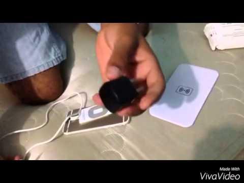 Cargador inalámbrico IQ  iPhone 5, 5s, 6, 6+, 6s, 6s+